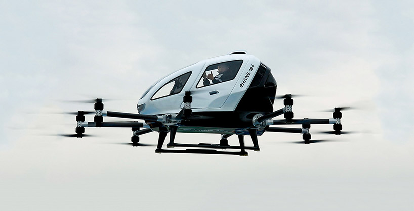 Jumbo Personal Drones Are Real And People In China Are
