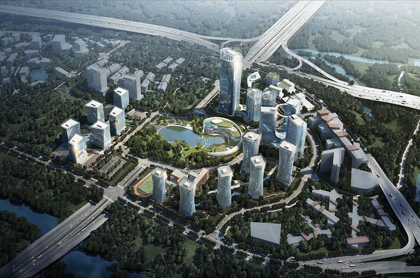 progetto CMR's big data valley masterplan is underway in xiantao