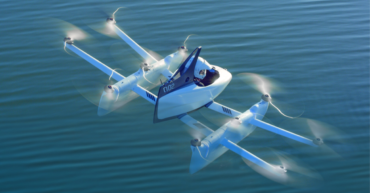Kitty Hawk S First Personal Aircraft Makes Flying Part Of