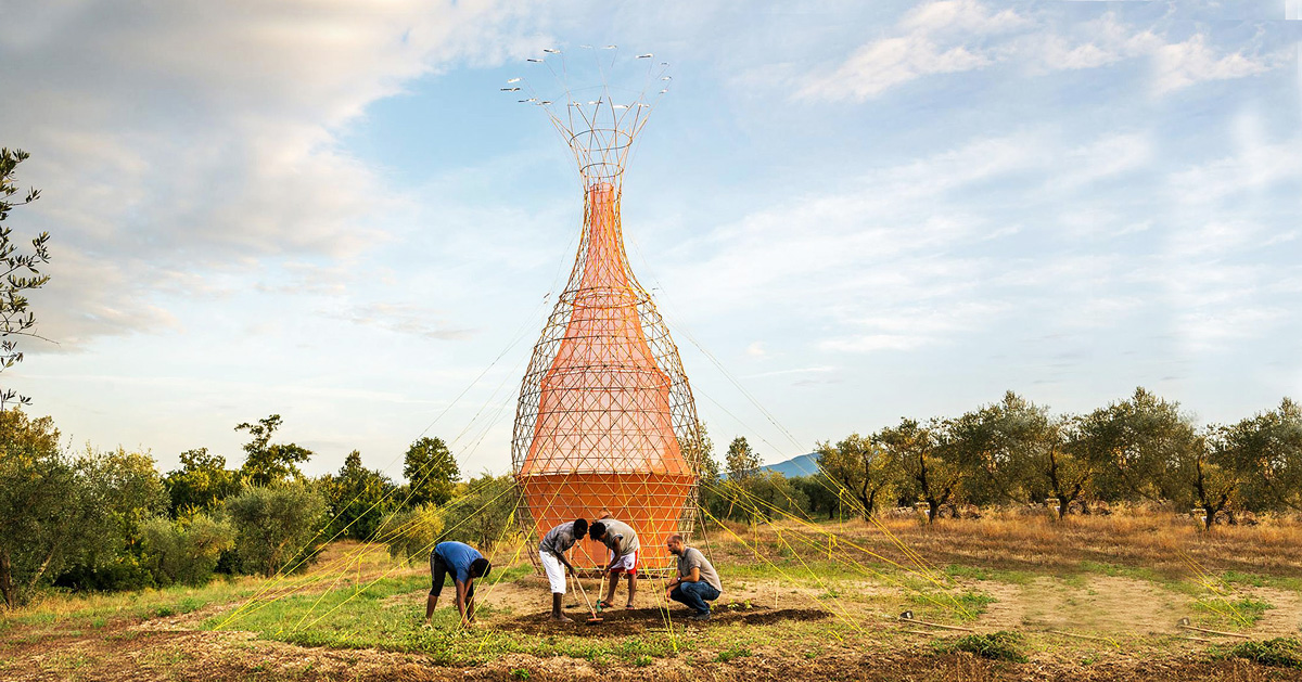 Warka Water Towers Collect Clean Drinking Water From The