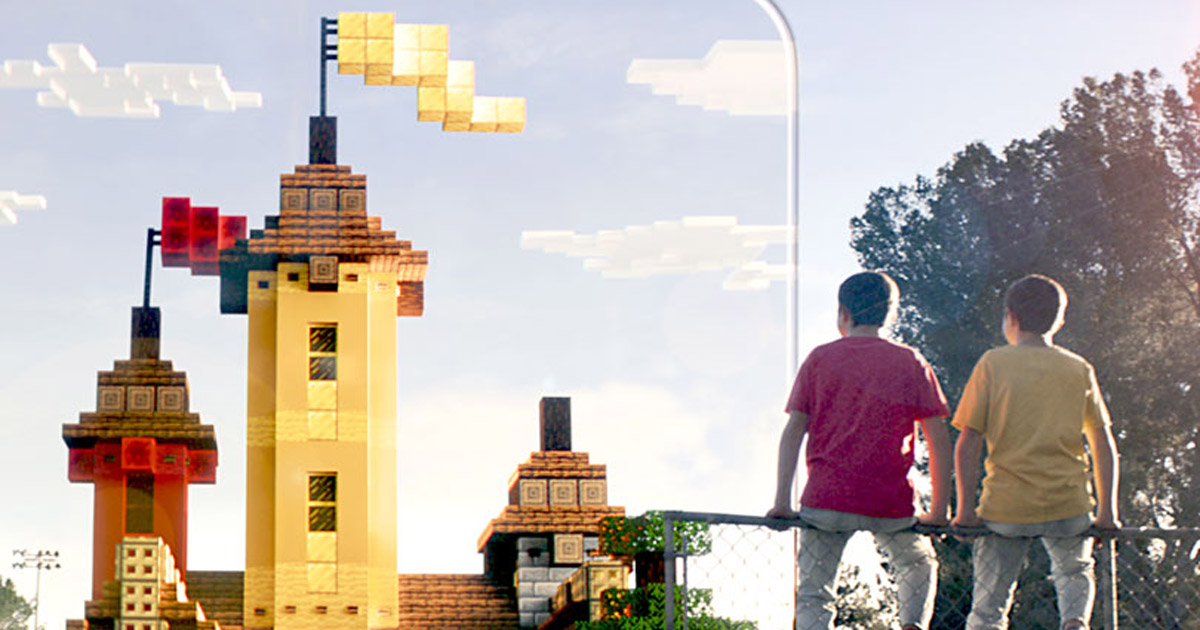 Minecraft Earth Uses Augmented Reality To Let Players