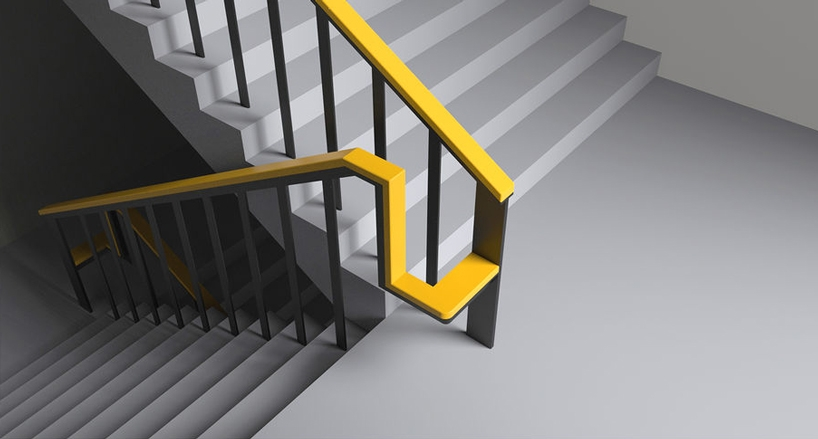 Simple Handrail Redesign Lets Older Users Rest For A While When | Stair Rails For Elderly | Porch | Stair Climbing | Stainless Steel | Stair Climber | Cmmc Handrail