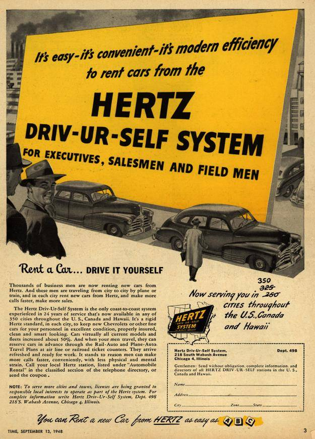 Drive-UR-Self System! Awesome branded headline