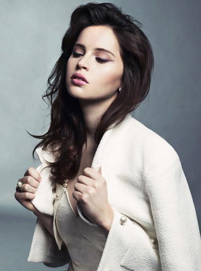 Keira Knightley Glamour Magazine