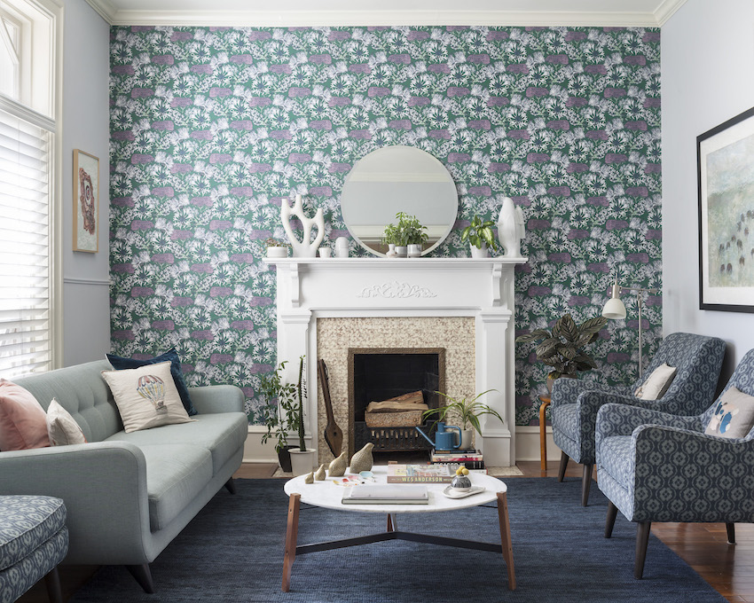 Wallpaper Living Room And Dining Room