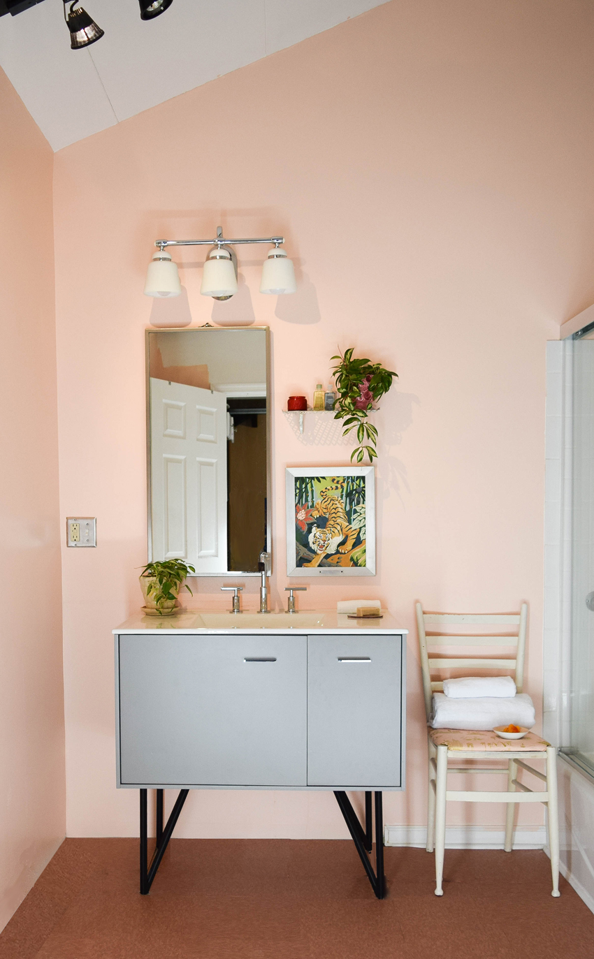 High  Low   Everything in Between  A Bathroom Update     Design Sponge At first blush  pun intended   my bathroom makeover appears to perhaps be  that of a trend loving 12 year old  It is not  It s all mine