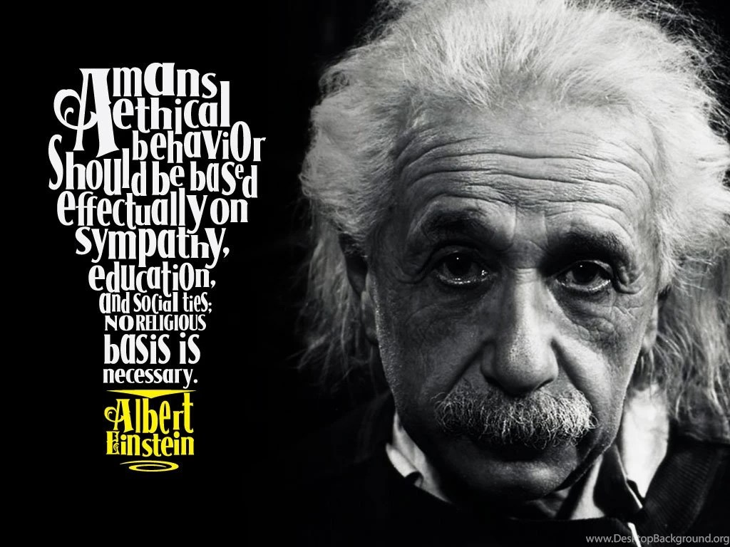 Albert Einstein Quotes Wallpaper  QuotesGram Desktop Background