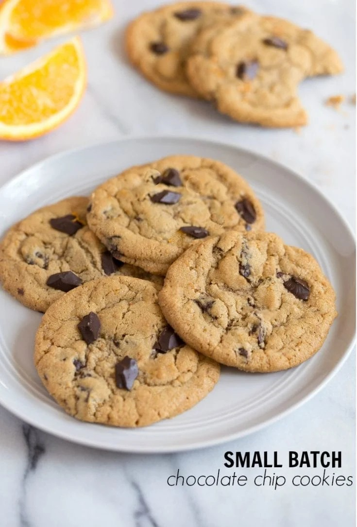 Small Batch Chocolate Chip Cookies Best Dessert For Two