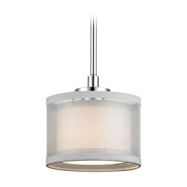 drum shade mini pendant light # 3