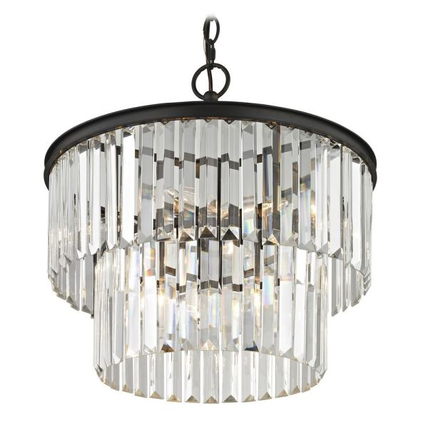 crystal chandelier tiered # 58