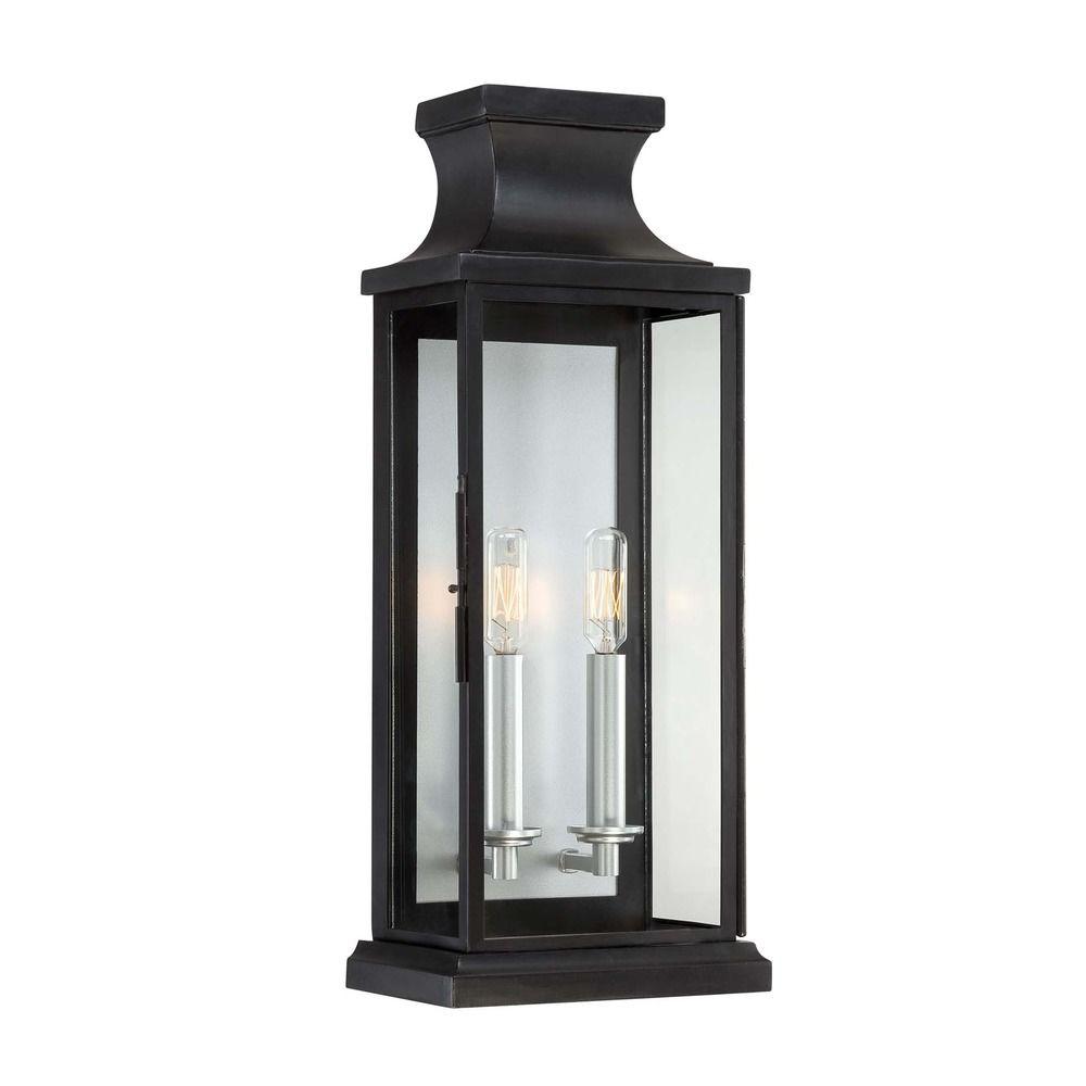 Savoy House Black Outdoor Wall Light 5 5911 Bk