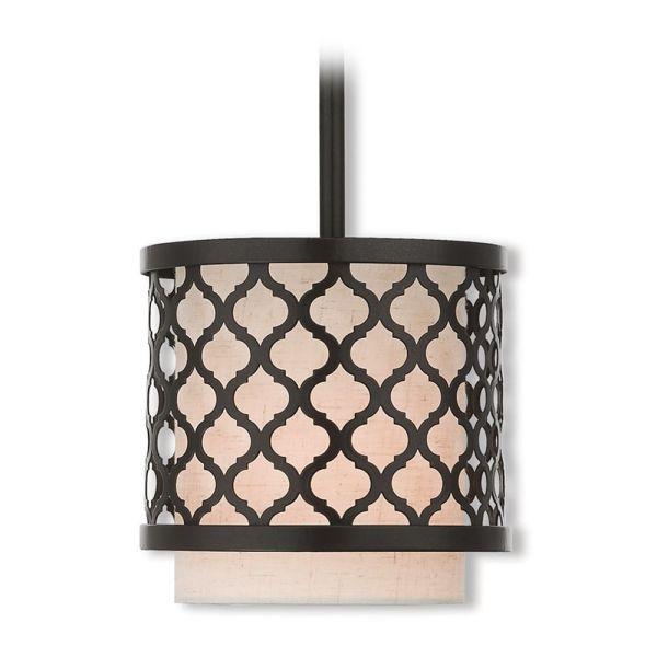 drum shade mini pendant light # 59