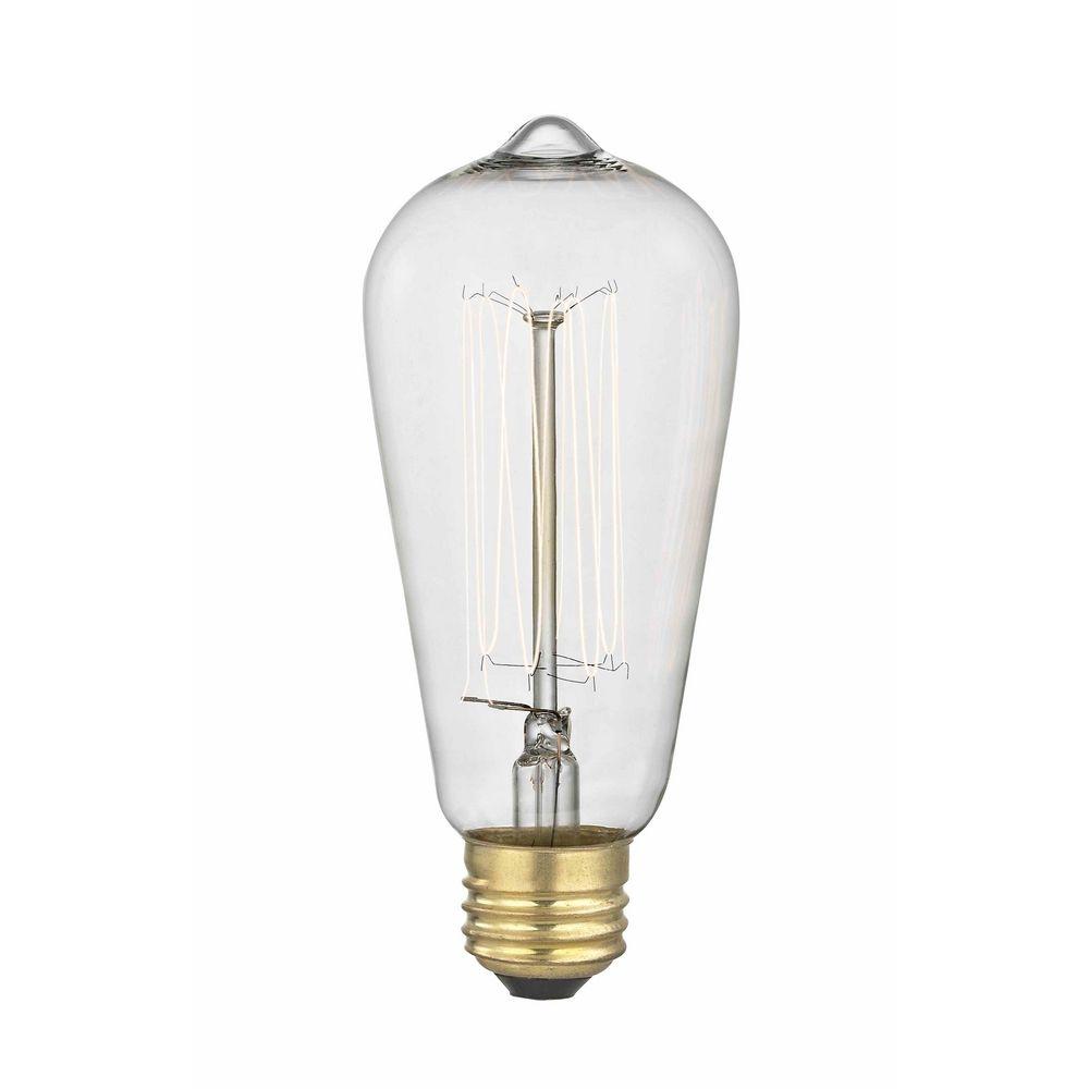 Edison And Light Bulb