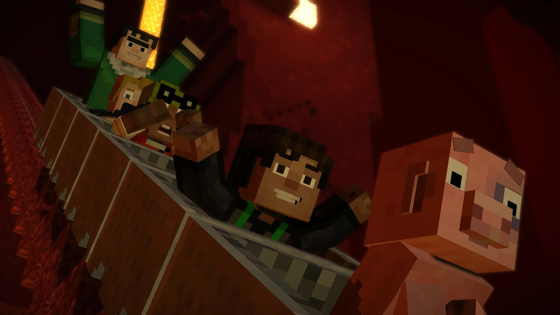 Minecraft Story Mode Temple Orders