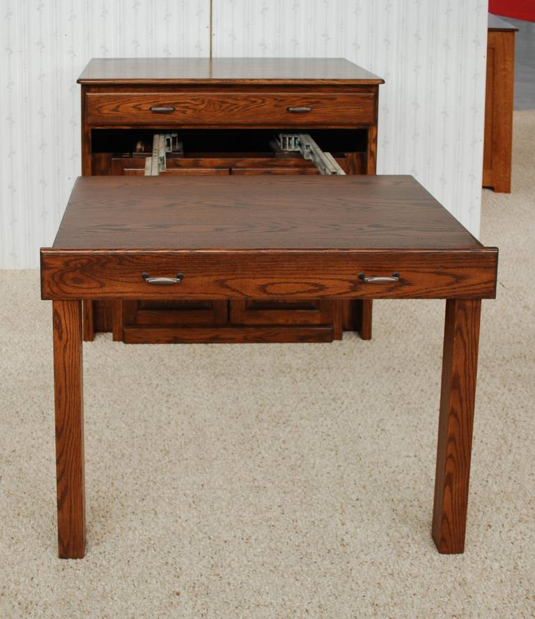 Buffet Table De Vries Woodcrafters