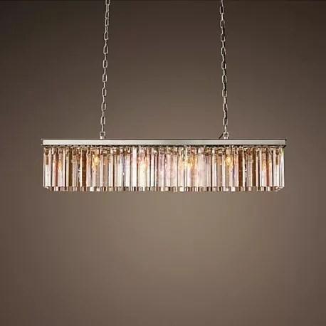 Rh Rhys Prism Rectangular Crystal Chandelier Design By