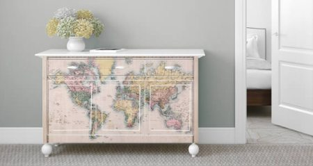 Old World Map Dry Erase Furniture Decals Dezign With a Z - Map Furniture » Images Wallpaper Full Wallpapers