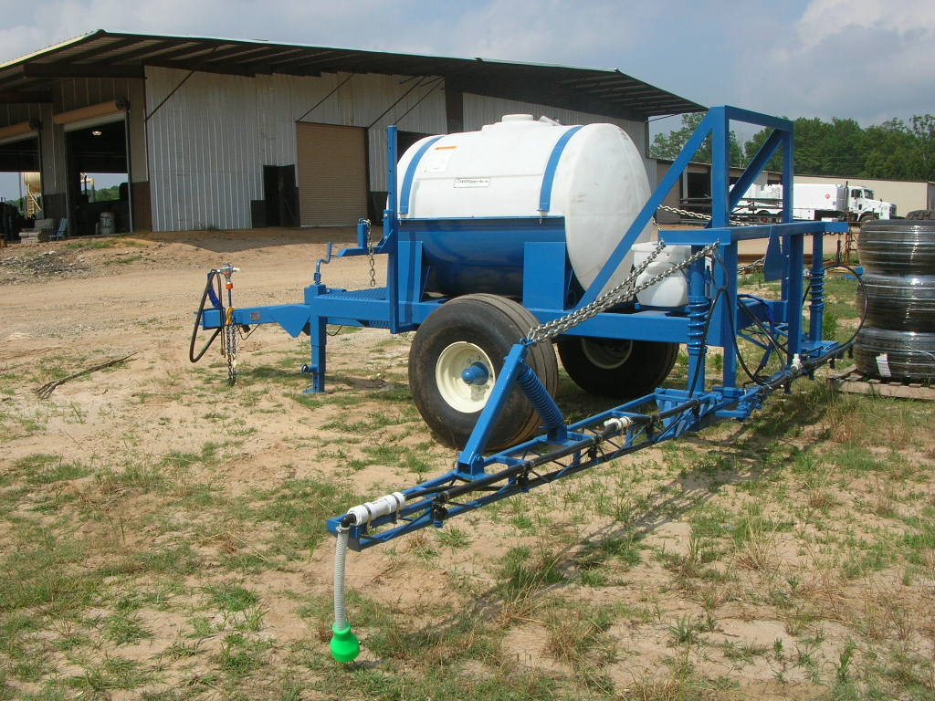 Lime Truck Spreaders Fertilizer Mounted