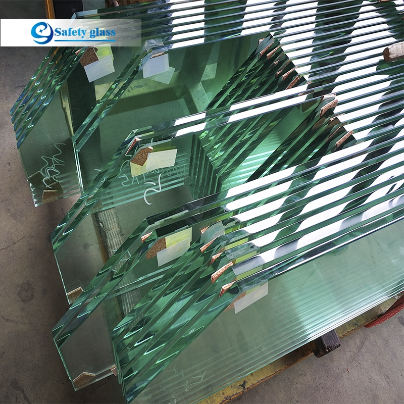 Best Large Tempered Glass Panels For Stairs Fence And Deck Railing | Tempered Glass Panels For Stairs | Metal | Glass Balustrade | Newel Post | Acrylic | Bannister