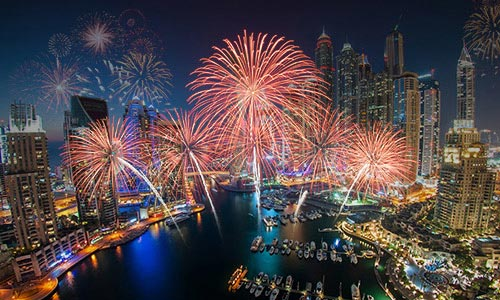 New Year Party at Dhow Cruise in Dubai Marina and Creek new year party at dhow cruise