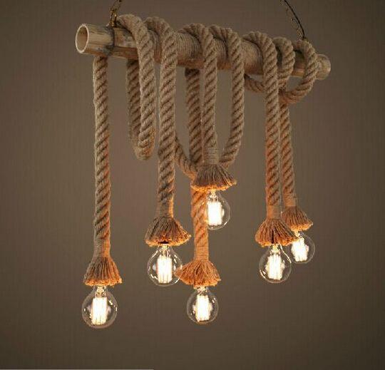 pendant lighting rope # 2