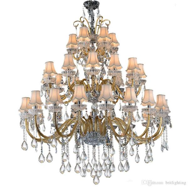 crystal chandelier traditional # 17