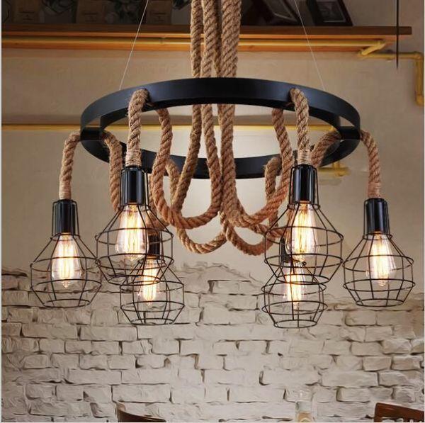 pendant lighting rope # 5