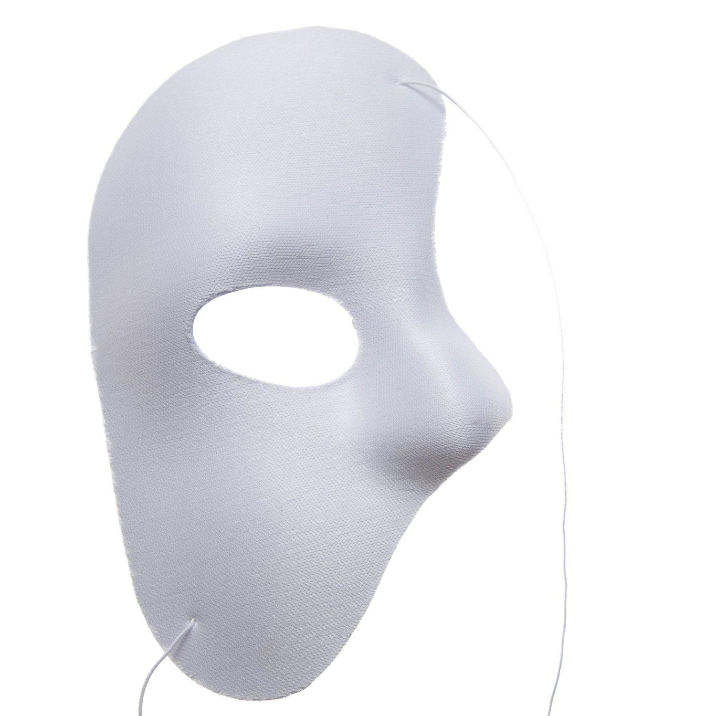 full face mardi gras mask template
