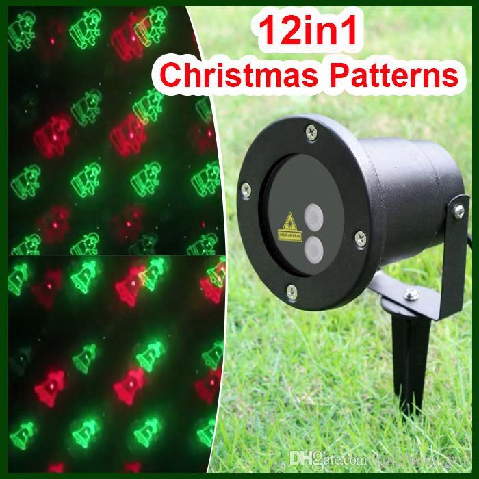 Christmas Strobe Lights