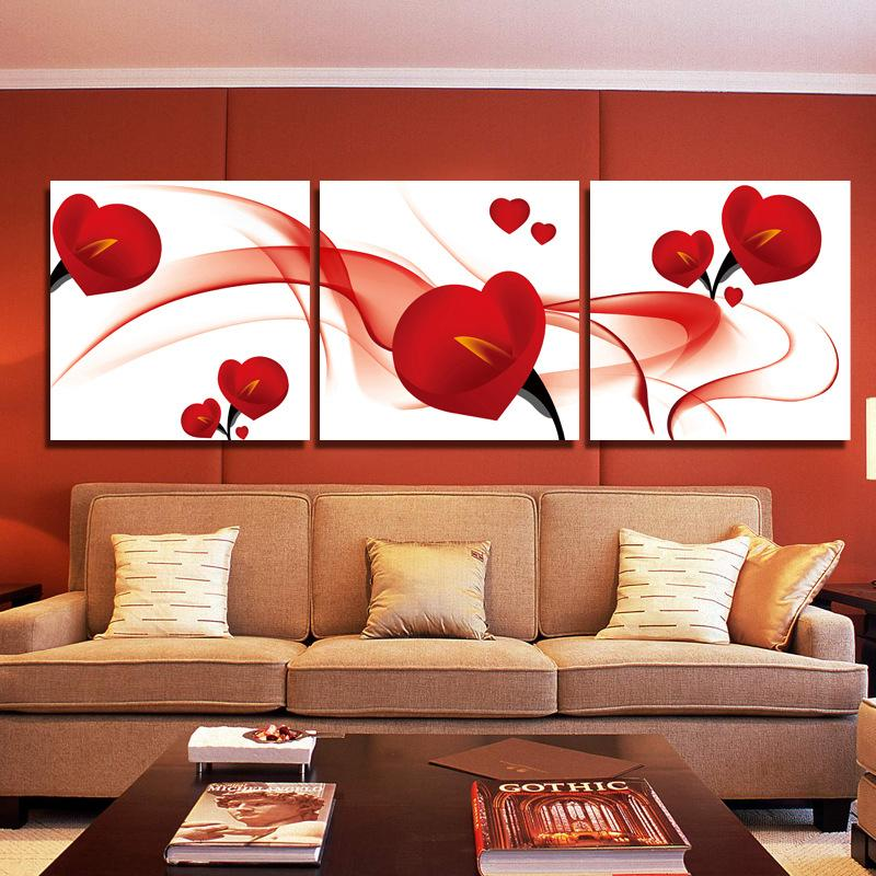 2018 Fashion Red Flower Modern Art Wall Painting Home Decoration Art     2018 Fashion Red Flower Modern Art Wall Painting Home Decoration Art  Picture Paint On Canvas Frameless Painting From Tian7777777   16 09    Dhgate Com