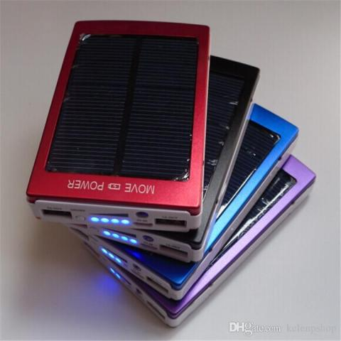 2018 New Solar Power Bank 200000mah Portable Solar Battery Middle     2018 New Solar Power Bank 200000mah Portable Solar Battery Middle East Hot  Sale Charging Battery 200000 Mah For All Phone Digital Products Charge From