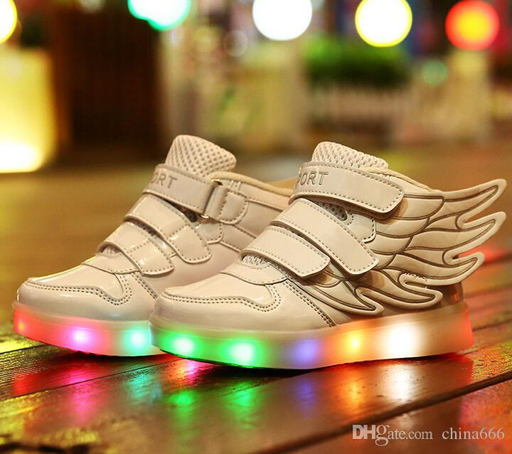 Childrens Led Light Shoes