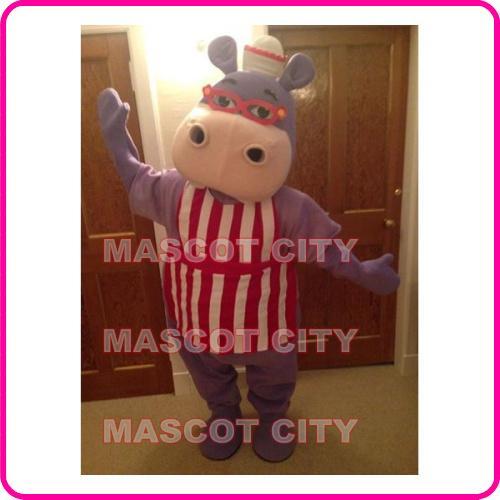 Doc Mcstuffins Hallie Hippo Costume Outline