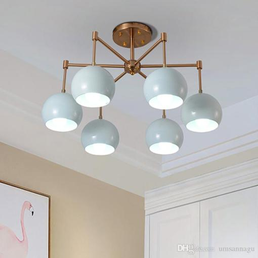 American Macarons Pendant Lamps Led Light European Blue Pendant     American Macarons Pendant Lamps Led Light European Blue Pendant Lights  Fixture Vintage Home Indoor Lighting Restaurant Living Room Drop Lamp  Hanging Ceiling
