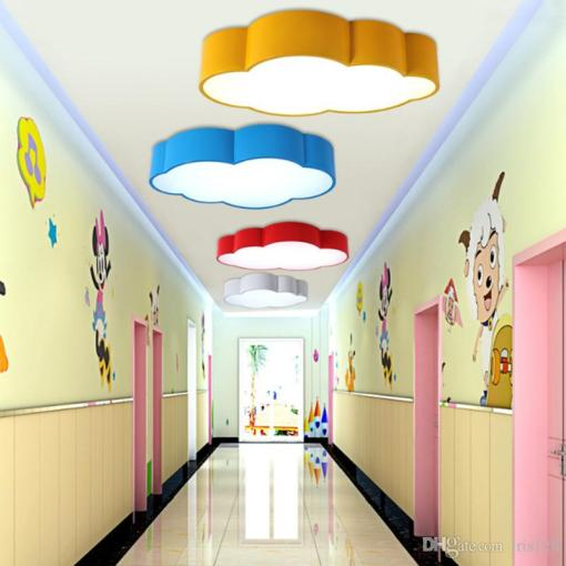 Wholesale Ceiling Lights At  70 36  Get Led Cloud Kids Room Lighting     Wholesale Ceiling Lights At  70 36  Get Led Cloud Kids Room Lighting  Children Ceiling Lamp Baby Ceiling Light With Yellow Blue Red White Color  For Boys