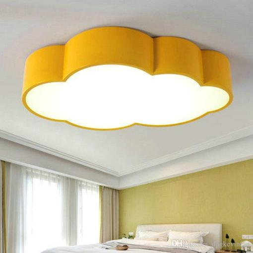 2018 Led Cloud Kids Room Lighting Children Ceiling Lamp Baby Ceiling     2018 Led Cloud Kids Room Lighting Children Ceiling Lamp Baby Ceiling Light  With Yellow Blue Red White For Boys Girls Bedroom Fixtures From  Dpgkevinfan