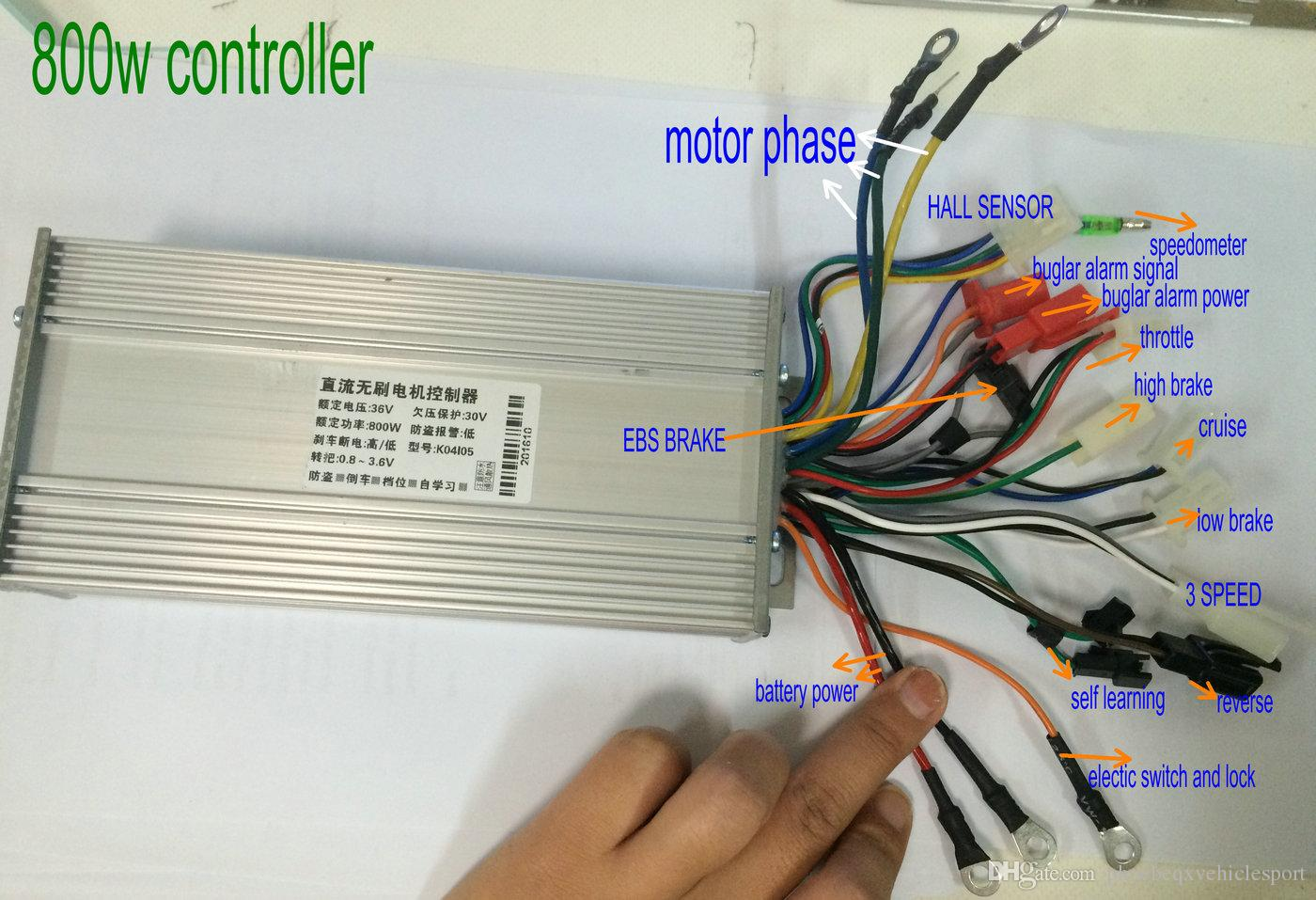 Electric Scooter Controller Wiring Diagram Speed