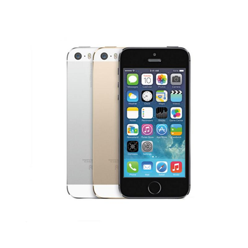 Original Refurbished Apple Iphone 5s With Fingerprint Unlocked Ios     Original Refurbished Apple Iphone 5s With Fingerprint Unlocked Ios Dual  Core Wcdma 3g Smart Phone 16gb 32gb 64gb Rom 4 0 8mp Second Hand Cellphone  Tablets