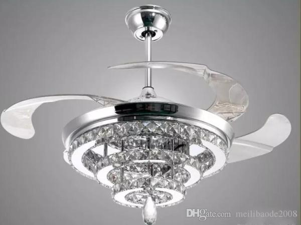 crystal chandelier with fan # 1
