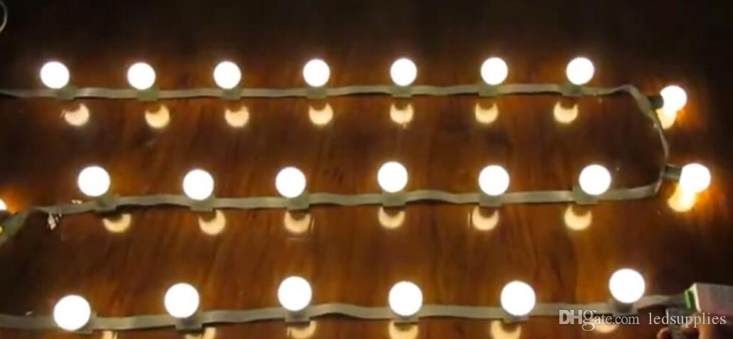 Led 3m 18bulbs Dc 24v Low Voltage String Lights Marquee