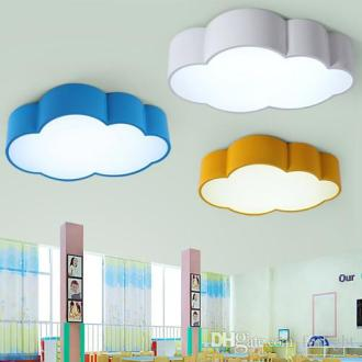 Ceiling Lights Online Sale Led Cloud Kids Room Lighting Children     Ceiling Lights Online Sale Led Cloud Kids Room Lighting Children Ceiling  Lamp Baby Ceiling Light With Yellow Blue Red White Color For Boys Girls  Bedroom