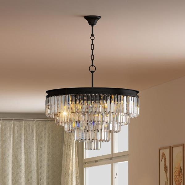 crystal chandelier tiered # 37