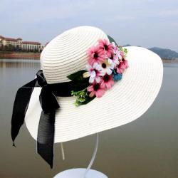7be4938b17576 2019 New Ladies Sun Hats Breathable Straw Hat Golf Caps Women Beach