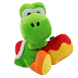 Yoshi Apple Canada   Best Selling Yoshi Apple from Top Sellers     High Quality 100  Cotton 7 inches 18cm Super Mario Bros Yoshi Holding The  Apple Plush Toy For Child Holiday Gifts