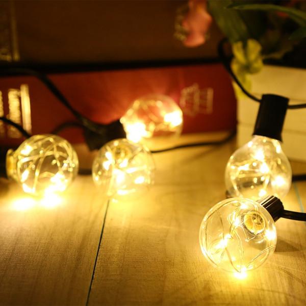 outdoor pendant string lights # 90