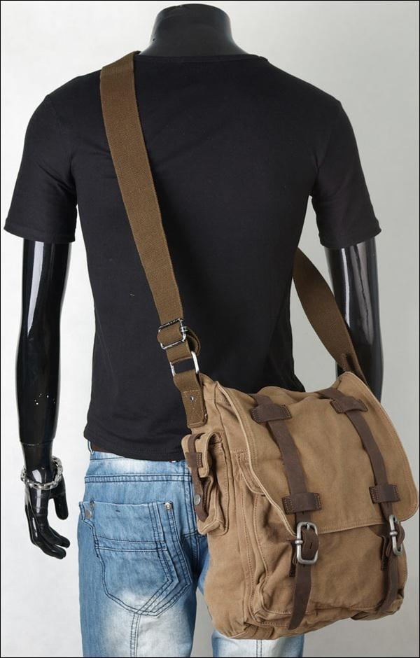 Leather Single Strap Backpack