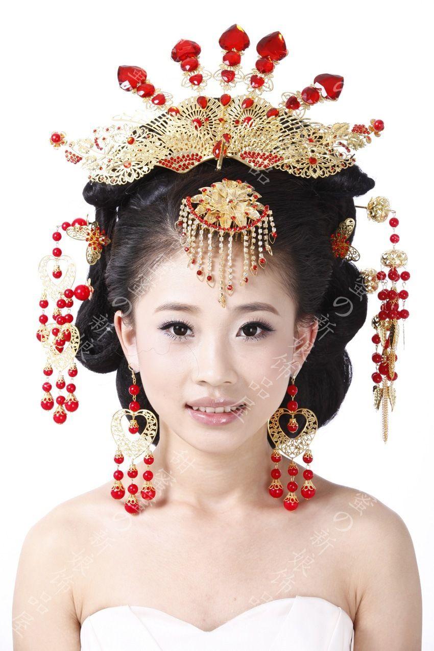 2017 Coronet Costume Hanfu Bride Hair Accessory Chinese ...
