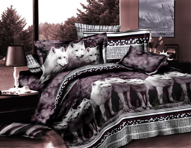 Bed Queen Bag Wolf Discount