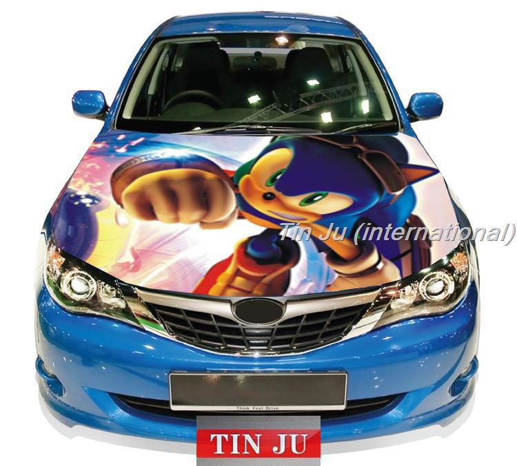 Shadow Hedgehog Decal Car