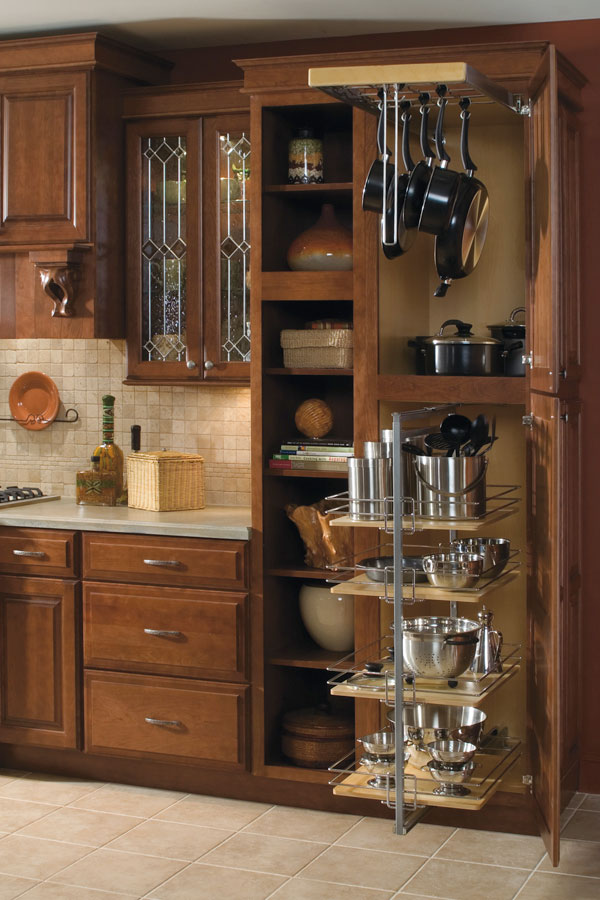 Utility Storage Cabinet With Pantry Pullout Diamond